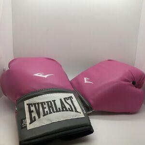 Everlast Pink Boxing Gloves 12 Oz Women's Everfresh MMA Fighting