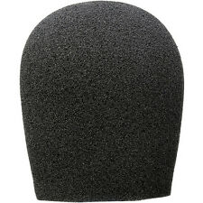 Auray Foam Windscreen for 1-3/8 Diameter Microphones (Black)