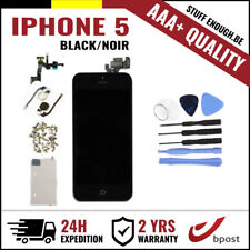 AAA+ LCD TOUCH SCREEN/SCHERM/ÉCRAN FULL ASSEMBLY BLACK NOIR + TOOLS FOR IPHONE 5