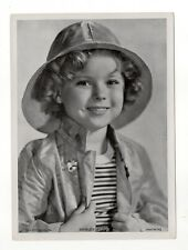 Shirley Temple 1937 Union Dresden Film Star Series 16 5X7 Cigarette Photo Card