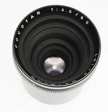 Leica Focotar 60mm f4.5  #2477325