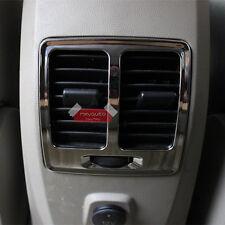 Chrome Armrest Box Air Vent Bezel For Ford Kuga Escape MK2 2013 14 15 16 2017