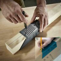 Wood Working Ruler 3D Mitre Angle Measuring Gauge Square Size Measure Tool New