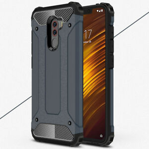 Hybrid Shockproof Hard Bumper Case for Xiaomi Pocophone F1/Note6 Pro Armor Cover