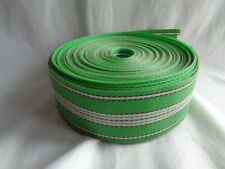 OLD STOCK GREEN VINTAGE CHAIR WEBBING REPLACEMENT