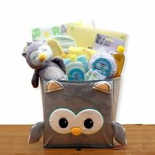 A Little Hoot Unisex Welcome New Baby Owl Themed Gift Basket