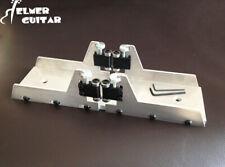 Fret Slotting Miter Box, Cut Fret Slots Smoothly & Efficiently, Sturdy Aluminum