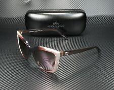 COACH HC8261 55345R Taupe Laminate Pink Mirror 56 mm Women's Sunglasses