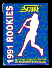 1991 Score Baseball Rookies Complete Box set Glossy RC