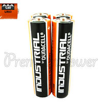 4 x Duracell AAA batteries Industrial Procell Alkaline LR03 MN2400 1.5V