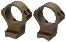 "Browning X-Bolt Burnt Bronze Cerakote Standard 1"" Scope Rings 12531"