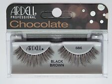 (LOT OF 72) ARDELL Professional Lashes Chocolate Black Brown #886