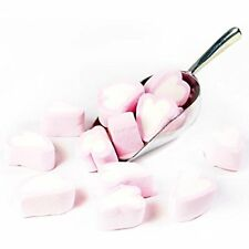 LARGE PINK HEART MALLOWS MARSHMALLOWS 1KG RETRO / VALENTINE'S / WEDDING FAVOURS