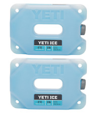 Lot of 2 - New YETI ICE Cooler Ice Pack 2 Lb