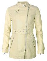 mujer chaqueta de entretiempo piel sintética cuero verano S,M,L,XL NUEVO