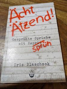 Graffiti Buch: Ächt ätzend (1983)