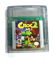 Croc 2 NINTENDO GAMEBOY COLOR GAME Tested + WORKING & Authentic!