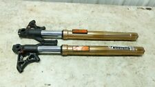 12 Triumph Speed Triple 1050 front forks fork tubes shocks right left
