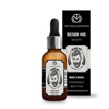 The Man Company Oil for Beard Moustache and Mooch - 30 ml (Almond and Thyme) FS