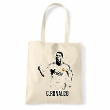 Art T-shirt, Borsa shoulder C Ronaldo, Natural, Shopper, Mare