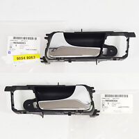 Chrome Inside Door Handle Catch Right For 02 08 Chevrolet Lacetti Optra 4dr Ebay