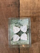 Dollhouse Miniature Leaf Plates/stepping Stones Clay ooak