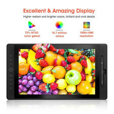 "VEIKK VK1560 15.6"" HD Artist IPS FHD Drawing Graphic Tablet Pen Display SU"