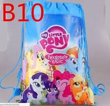 My Little Pony Boys & Girls Drawstring Gym Bag Backpack Bookbag Wholesale B10#