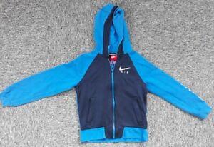 Blue & Navy Nike Air hoodie  -  size M - 10-12 years - Boys Girls Kids