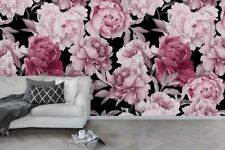3D Pink Floral Wallpaper Wall Murals Removable Wallpaper 46