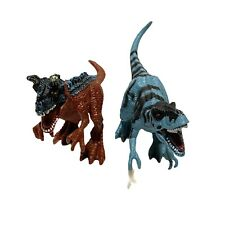 Chap Mei Allosaurus T-Rex Dinosaur Animal Planet Figure Extreme Dinos Blue Red
