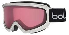 Bolle Freeze Ski Goggles 21488 Shiny White Vermillon Gun Lens