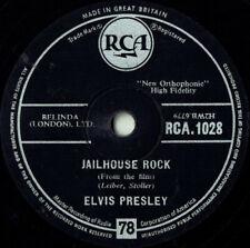 Elvis Presley - Jailhouse Rock / Treat Me Nice 78