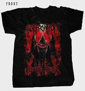 SUFFOCATION-Blood Oath- American death metal band ,T_shirt-SIZES:S to 6XL