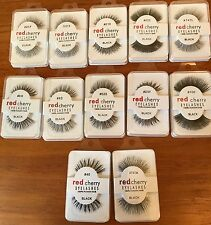 RED CHERRY 100% Human Hair Eyelashes - 12 Different Styles - Handmade Lashes