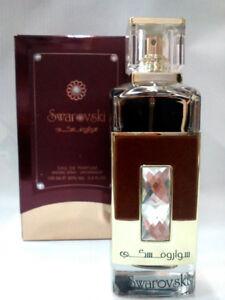 Swarovski Gold 100ml Women Arabian perfume  EDP Sweet Woody Musk Perfume Spray