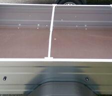 1x Alu Bügel für Flachplane, Ideal für PKW Anhänger 1,0 - 1,45m verstellbar U+