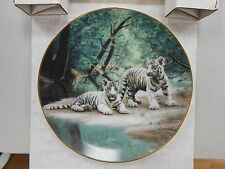 The Snow Leopard Collector's Plate by Will Nelson ~ Endangered Species ~ 1989