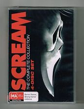 Scream 1-4 (The Complete 4-Movie Collection) Dvd 4-Disc Set Brand New & Sealed
