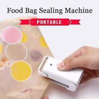 1pcs Machine Heat Sealing Packing Bag Mini Plastic Food Tool Sealer Portable.