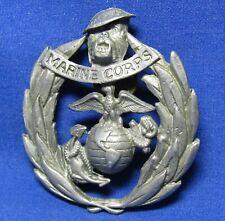 Vietnam War Theater Made Usmc Marine Corps Home Front Sweetheart Badge Pin
