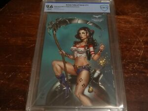 Grimm Tales of Terror #11 Cosplay Exclusive Variant CBCS 9.6 1/350 Harley Quinn