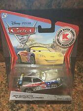 Disney PIXAR Cars 2 Jeff Corvette With Metallic Finish Silver Series.