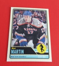2012/13 O-Pee-Chee Hockey Matt Martin Card #201***New York Islanders***