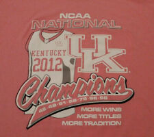2012 Pink Kentucky Xl Men's Basketball Ncaa Wildcats Championship Shirt