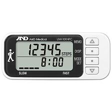 A&D Medical Triaxial Activity Monitor Slim Walking Step Counter Pedeometer + NFC