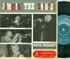 ERIC KRANS DIXIELAND PIPERS - FEAT. BIG BILL RAMSEY ( COLUMBIA SEGH 25)  EP 1960