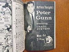 March-1962 TV Guide(PETER  GUNN/CRAIG STEVENS/JOHNNY CARSON/LISA BARRY//TONY DOW