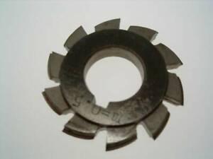 HSS Involute Gear Cutter 0.5 Module No 3 17-20 Teeth GC03 From Chronos