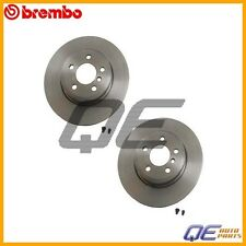 BMW E83 X3 04-10 Set Of 2 Front Disc Brake Rotors OES 34113400151 BR